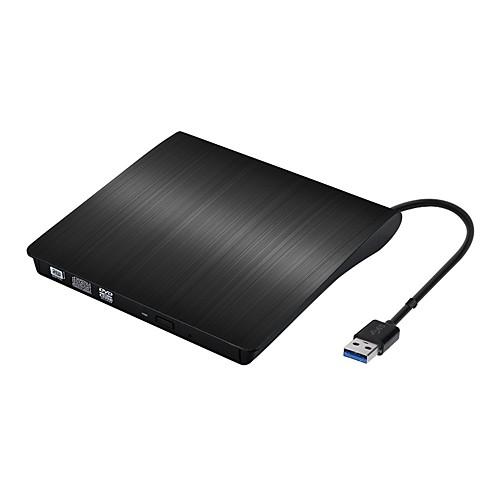 портативный тонкий внешний CD-RW привод DVD-R проигрыватель комбо горелки компакт-дисков для ноутбука Notebook PC