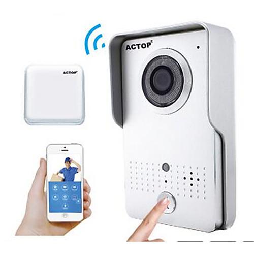 actop смарт WiFi безопасности дома видео дверной звонок Интерком Функция сигнала тревоги Suppot ИСН и Andriod wifi602 от Lightinthebox.com INT