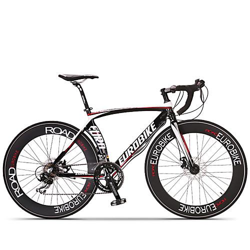 Дорожные велосипеды / Комфорт велосипеды Велоспорт 14 Скорость 26 дюймы / 700CC SHIMANO ST A070 Дисковый тормоз Без амортизации Без амортизации Обычные / Противозаносный Алюминиевый сплав, Черный