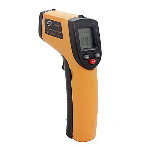 инфракрасный термометр gm320 -50-380 ℃ abs lcd дисплей aaa аккумулятор