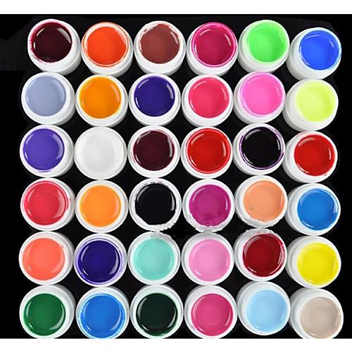 Кусачки для ногтей УФ-гель польский 8 ml 36 pcs Углеродный гель / Гель UV Builder / Классика Замочить от Долгое Повседневные Углеродный гель / Гель UV Builder / Классика Быстровысыхающий фото