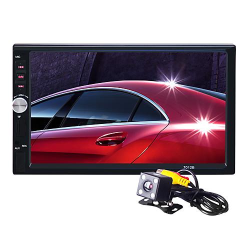 авторадио 7 дюймов 2 дин сенсорный HD автомобиль mp5 mp3 mp4 плеер стерео Bluetooth FM-радио USB с камерой заднего вида для Nissan Тойоте