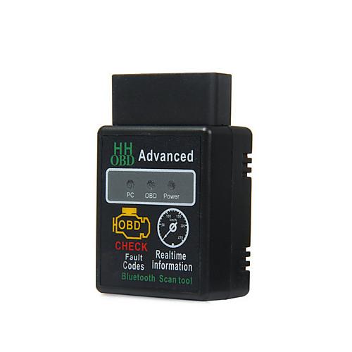 Elm327 obd2 obdii беспроводной bluetooth 2.1 obd 2 obd ii диагностический сканер считывателя производительности plug and drive chip tuning от Lightinthebox.com INT