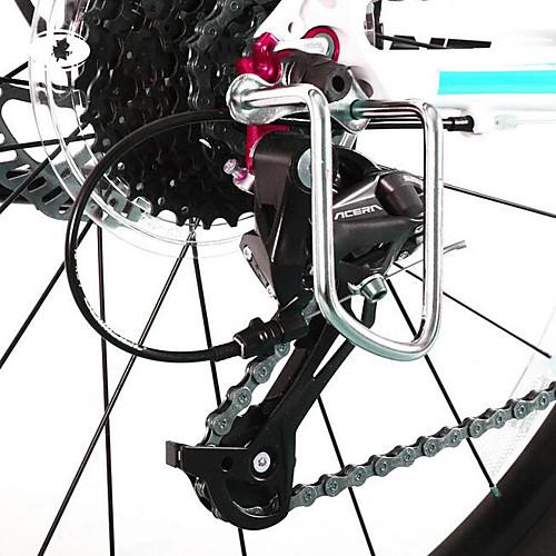 Защита механизма переключения передач Прочный Назначение Шоссейный велосипед Горный велосипед Велосипедный мотокросс TT Складной велосипед Велоспорт Алюминиевый сплав Черный фото