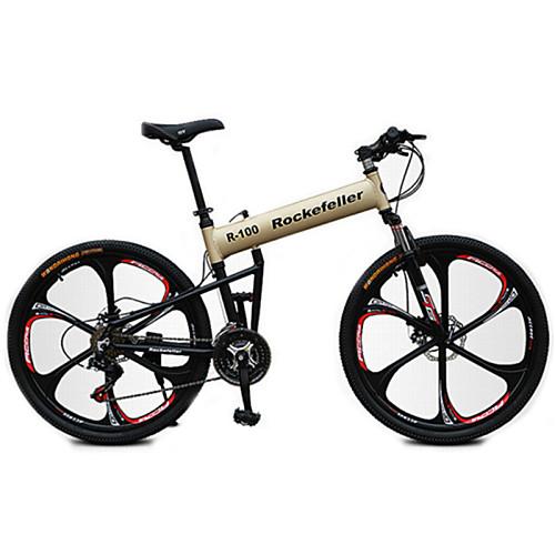 Горный велосипед / Складные велосипеды Велоспорт 21 Скорость 26 дюймы / 700CC Shimano Дисковый тормоз Передняя вилка с амортизацией Противозаносный Сталь