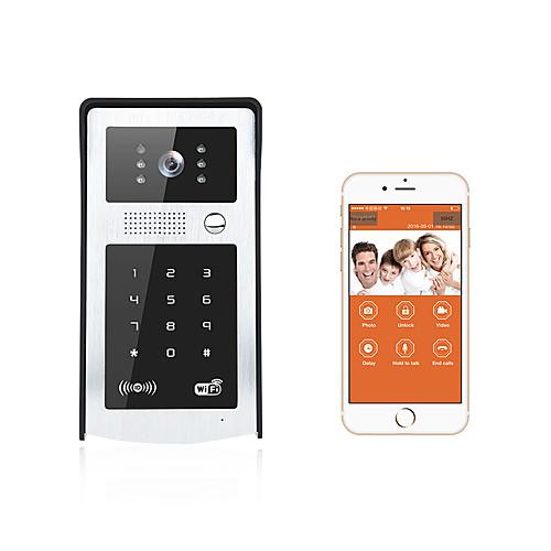 умный дверной звонок HD камера подключить андроид Moblie Wi-Fi видео дверной звонок от Lightinthebox.com INT