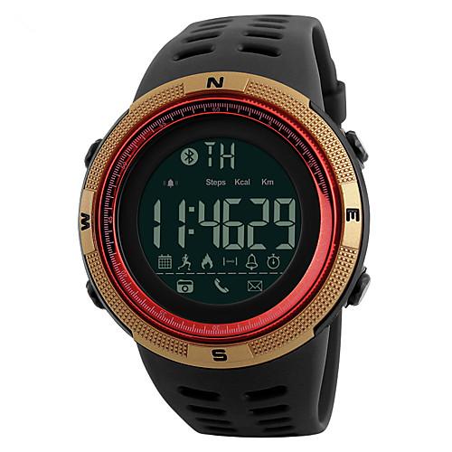 YYSKMEI1250 Мужчины Смарт Часы Android iOS Bluetooth Спорт Водонепроницаемый Израсходовано калорий Длительное время ожидания Регистрация деятельности / Таймер / Секундомер / Напоминание о звонке, Красный