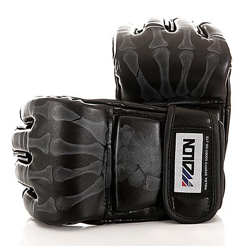 Снарядные перчатки / Тренировочные боксерские перчатки / Перчатки для грэпплинга для Тхэквондо / Бокс / Каратэ Без пальцев Регулируется / Дышащий / Износостойкий WULONG