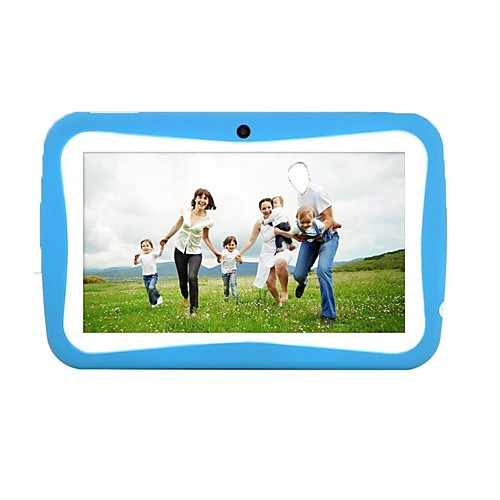 7 дюймов Дети Tablet (Android-5.1 1024600 Quad Core 512MB RAM 8GB ROM)