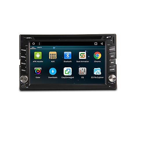 Android 6.0 6.2-дюймовый автомобильный DVD-плеер с четырёхъядерным кондеком a9 1.6ghz, радио, wifi, 4g, gps, rds <br>