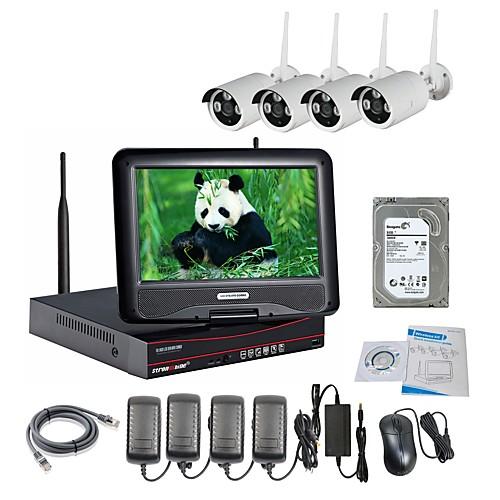 strongshine беспроводная IP-камера с ИК-960P водонепроницаемый и NVR 10,1 дюймовых жестких дисков ЖК 2tb наблюдения комплекты от Lightinthebox.com INT