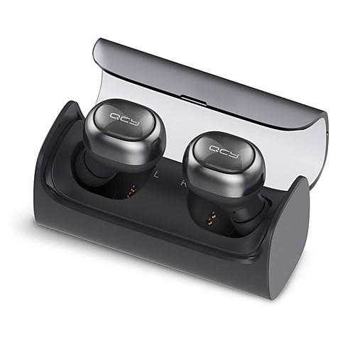 QCY Q29 Беспроводное Наушники пластик Eзда наушник С микрофоном / С зарядным устройством наушники, Белый