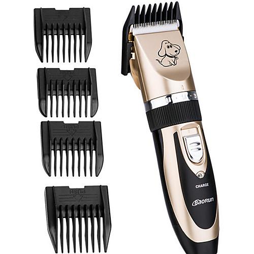 Кошка Животные Собака Уход Чистка Триммеры для волос Машинка для стрижки волос Набор инструментов Без шнура Керамика Машинки для стрижки и триммеры Компактность Безпроводнлй Двусторонний Животные фото