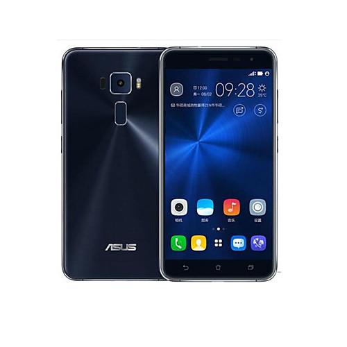 Asus ZenFone 3  ZE552KL 5.5  Android 6.0 4G смартфоны (Две SIM-карты Octa Core 16MP 4 Гб  64 Гб Синий)