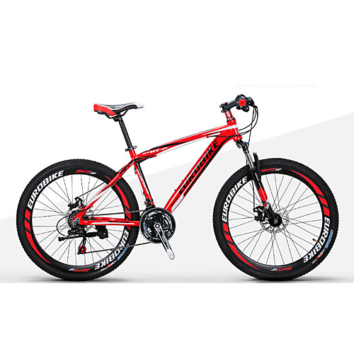 Горный велосипед / Складные велосипеды Велоспорт 21 Скорость 27.5 дюйма 1,95 дюйма Shimano Двойной дисковый тормоз Передняя вилка с амортизацией Без амортизации Обычные Алюминиевый сплав / Сталь