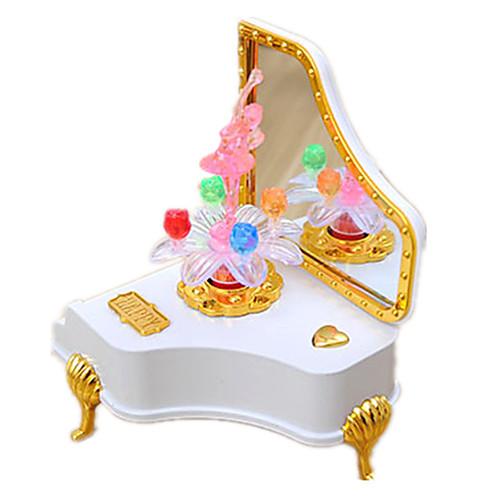 Музыкальная шкатулка Музыкальная шкатулка Пианино пластик Универсальные Игрушки Подарок фото