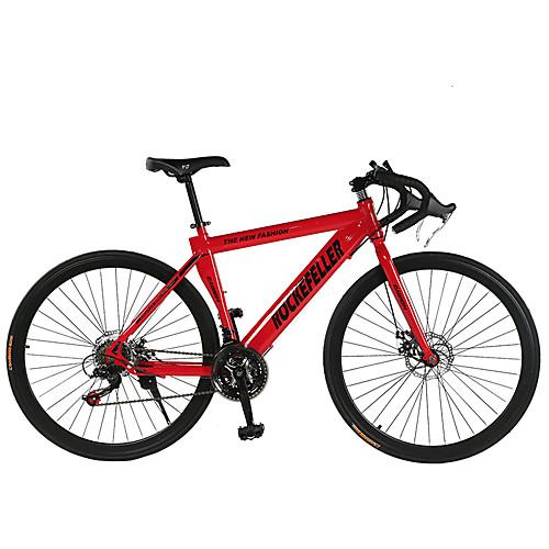 Дорожные велосипеды Велоспорт 21 Скорость 26 дюймы / 700CC SHIMANO TX30 Двойной дисковый тормоз Обычные Обычные Сталь