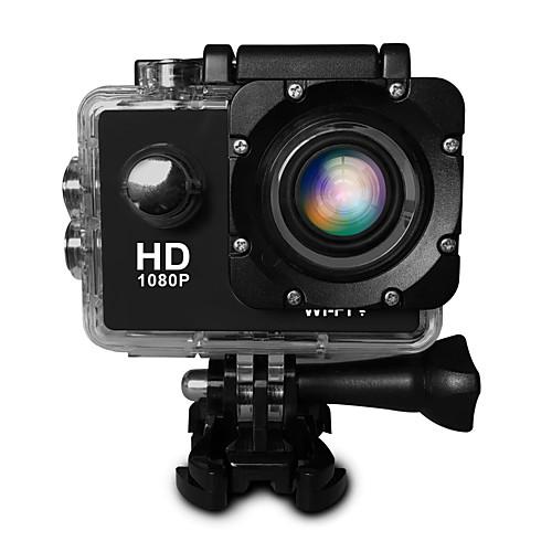 SJ4000 Экшн камера / Спортивная камера 20 mp 4608 x 3456 пиксель WiFi / Регулируется / Большой угол 30fps ± 2 EV с шагом КМОП-структура