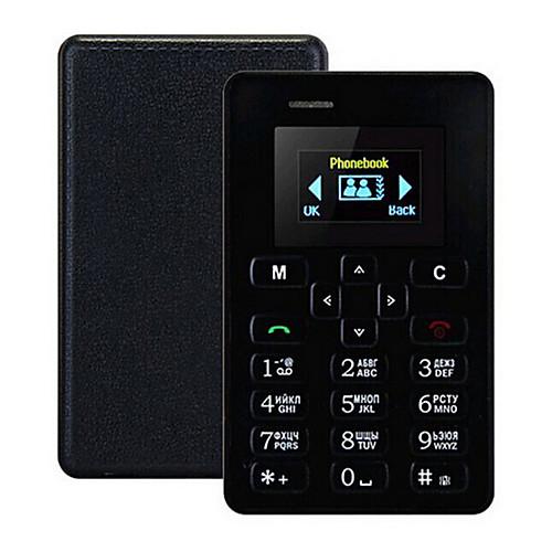 Новый ультратонкий aiek m5 телефон для карт 4,5 мм мини карман для мобильного телефона aeku slim phone