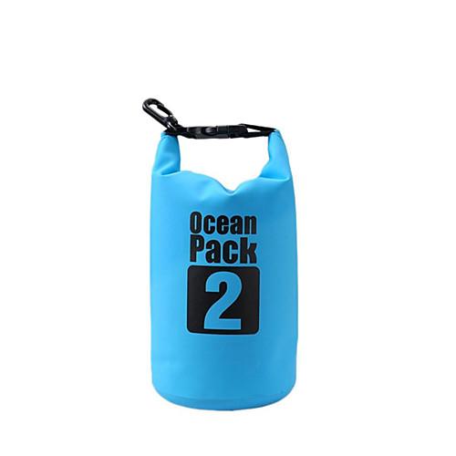 2 L Водонепроницаемый сухой мешок Водонепроницаемость Плавающий Легкость для Плавание Дайвинг Серфинг