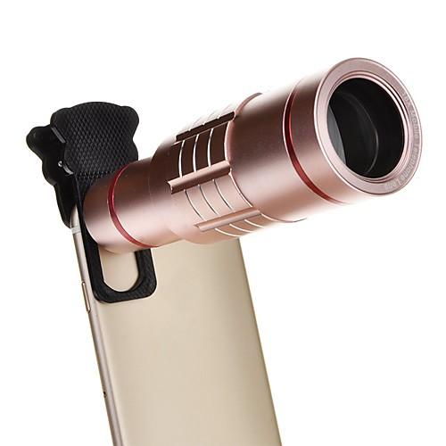 18-кратный универсальный алюминиевый оптический зум с мини-штативом смартфон металлический телескоп линза с длинным фокусом -винка от Lightinthebox.com INT