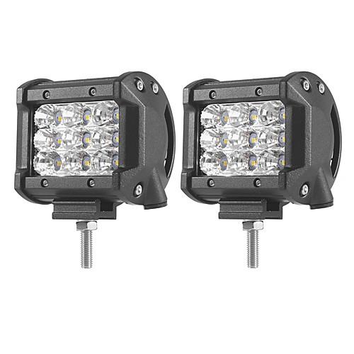 2pcs Автомобиль Лампы 27W SMD 3030 5400lm Светодиодная лампа Рабочее освещение