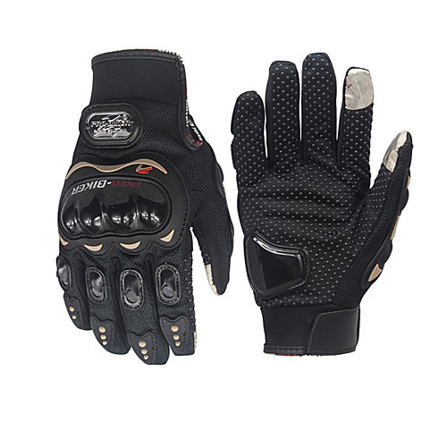 мотоцикл pro-biker перчатка велосипедный велосипед гоночный перчатки мотоцикл полный перст антискользящие перчатки от Lightinthebox.com INT
