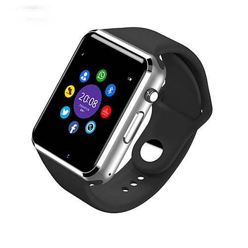 Смарт Часы W8 для Android Израсходовано калорий / Длительное время ожидания / Хендс-фри звонки / Сенсорный экран / Фотоаппарат / Секундомер / Напоминание о звонке / 0.3 мегапикс., Красный