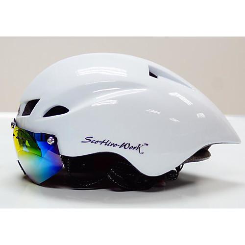 Велоспорт шлем Сертификация Велоспорт Неприменимо Вентиляционные клапаны С возможностью регулировки Ультралегкий (UL) Спорт Универсальные от Lightinthebox.com INT