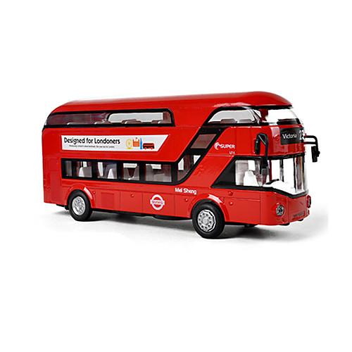 Автобус Автобус Двухэтажный автобус Универсальные Игрушки Подарок фото
