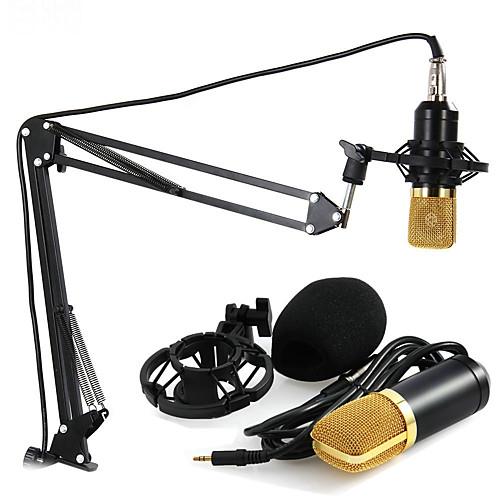 3,5 мм Микрофон Проводной Конденсаторный микрофон Ручной микрофон Назначение Компьютерный микрофон, Черный