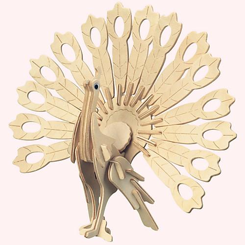 3D пазлы Пазлы Деревянные пазлы Птица Своими руками Натуральное дерево Детские Взрослые Универсальные Мальчики Девочки Игрушки Подарок фото
