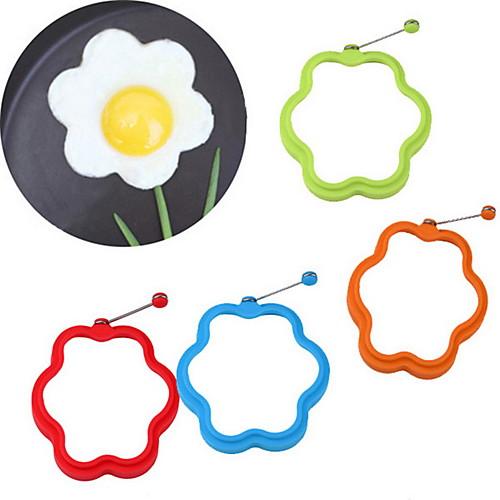 цветок в форме силикона схватка яйцо плесень кольцо завтрак омлет плесень
