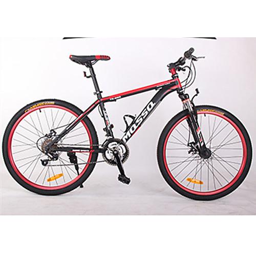 Горный велосипед Велоспорт 21 Скорость 26 дюймы / 700CC BB8 Двойной дисковый тормоз Передняя вилка с амортизацией Рама с жесткой задней подвеской Противозаносный Алюминиевый сплав