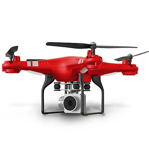 RC Дрон SHR/C HR SH5 10.2 CM 6 Oси 2.4G С HD-камерой 720P Квадкоптер на пульте управления FPV LED Oсвещение Возврат Oдной Kнопкой Прямое