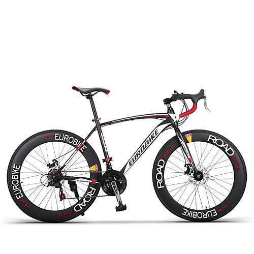 Комфорт велосипеды Велоспорт 21 Скорость / 27 Скорость 26 дюймы / 700CC Shimano Двойной дисковый тормоз Обычные Без амортизации Обычные Aluminum Alloy / Углеродистая сталь