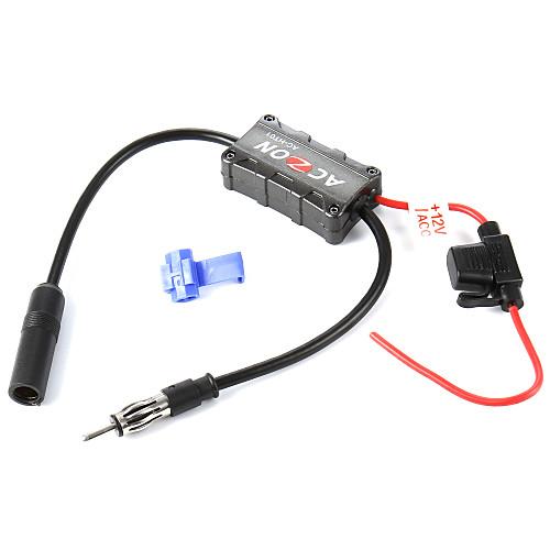 автомобили автомобиль FM-радио антенна усилитель усилитель сигнала для обоих я и FM-радиостанций. от Lightinthebox.com INT