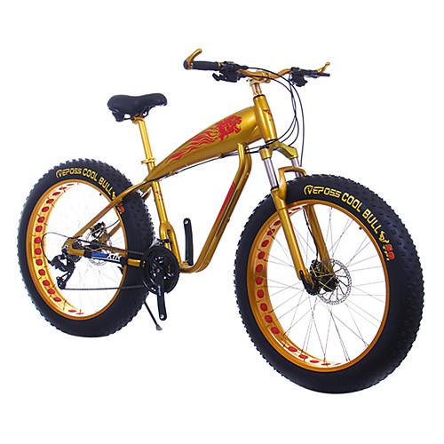 Горный велосипед Велоспорт 24 Скорость 26 дюймы / 700CC SHIMANO TX30 Двойной дисковый тормоз Передняя вилка с амортизацией Алюминиевый сплав Алюминий / Сплав