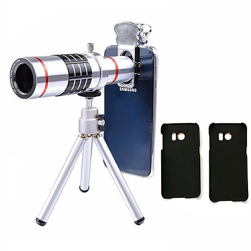 Lingwei 18x zoom samsung камера телеобъектив широкоугольный объектив / штатив / держатель телефона / жесткий чехол / сумка / ткань для