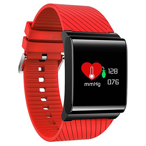 Смарт Часы X9 Pro для iOS / Android Пульсомер / Измерение кровяного давления / Израсходовано калорий / Длительное время ожидания / Сенсорный экран / Напоминание о звонке / Датчик для отслеживания сна, Красный