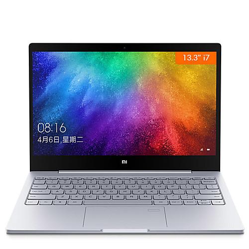 ноутбук ноутбука xiaomi 13,3-дюймовый сенсор отпечатка пальца intel i7-7500u 8gb ddr4 256gb pcie ssd windows10 mx150 2gb от Lightinthebox.com INT