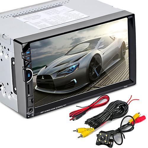 7002 2 din bluetooth автомобильное радио видео mp5 плеер autoradio fm aux usb sd hd сенсорный экран с am rds музыкальный проигрыватель mp5
