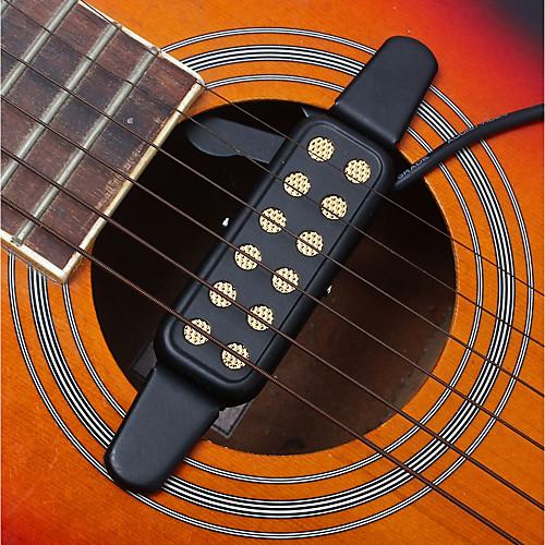 12 Hole Pickup / преобразователь / Звуковое отверстие Металл Веселье Гитара / Классическая гитара / Акустическая гитара Аксессуары для музыкальных инструментов фото