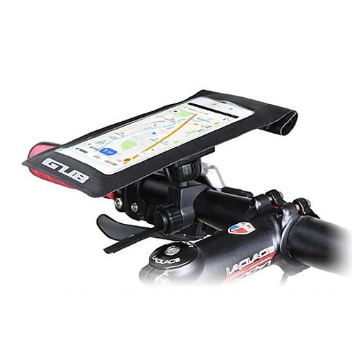 Сотовый телефон сумка Бардачок на руль Водонепроницаемый сухой мешок 5.7 дюймовый Сенсорный экран Водонепроницаемость Велоспорт для iPhone 8 Plus / 7 Plus / 6S Plus / 6 Plus iPhone X Samsung Galaxy, Черный
