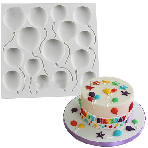1шт кремнийорганическая резина силикагель Силикон Антипригарное покрытие Инструмент выпечки 3D Печенье Шоколад Для приготовления пищи Посуда Формы для пирожных Инструменты для выпечки фото