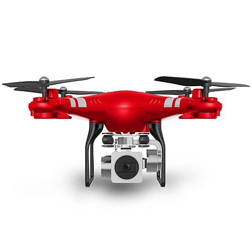 RC Дрон SHR / C SH5HD Готов к полету 10.2 CM 6 Oси 2.4G С HD-камерой 5.0MP 1080P Квадкоптер на пульте управления FPV / Возврат Oдной