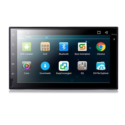 Андроид 6.0 7-дюймовый автомобильный DVD-плеер с четырехъядерным коннексом a9 1.6ghz / радио / wifi / 4g / gps / rds