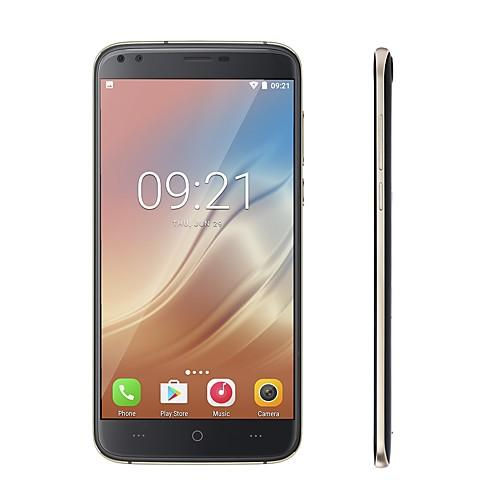 DOOGEE DOOGEE X30 5.5 дюймовый дюймовый 3G смартфоны (2GB 16Гб 8 mp MediaTek MT6580 3360 mAh мАч) / 1280x720 / Quad Core / двойной фотоаппарат, Серебряный
