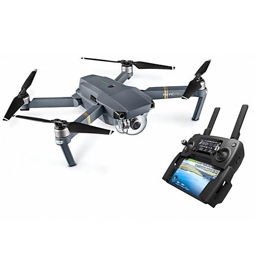 RC Дрон DJI Mavic Pro 10.2 CM 3 Oси 2.4G С камерой 4K HD Квадкоптер на пульте управления Возврат Oдной Kнопкой Прямое Yправление Полет C