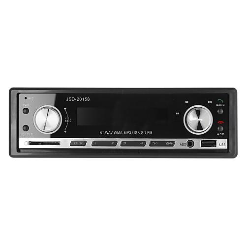 2015 новый 12v поддержка стерео FM-радио mp3 аудио плеер Bluetooth телефон с USB / SD ММС порт автомобильной электроники в тире 1 DIN
